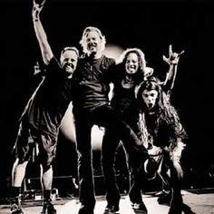 Lars Ulrich, James Hetfield, Kirk Hammett & Robert Trujillo