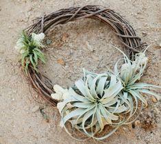 Idea for design...Air Plant Wreath DIY Tutorial | MV Florals + Megan Welker | Oh Lovely Day