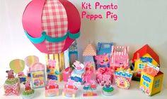 Arquivo Silhouette Combo Peppa Pig