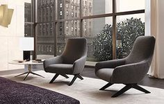 Design: Vincent Van Duysen Here stands Marlon, the armchair with a wooden structure and an ergonomic seat, Marlon: the original simplicity of a furnishing Accent Furniture, Cool Furniture, Furniture Design, Single Sofa, Chair Upholstery, Occasional Chairs, Modern Sofa, Decoration, Living Spaces
