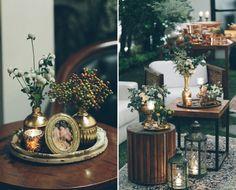 Festa de noivado em grande estilo. Detalhes do décor by Tais Puntel