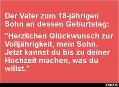 Spruche Zum 18 Geburtstag Lustig