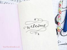 Welcome-word-art