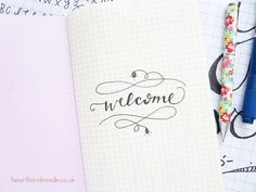 Welcome-word-art