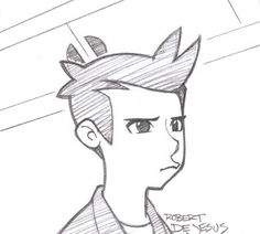 Fry Squint Sketch by Banzchan