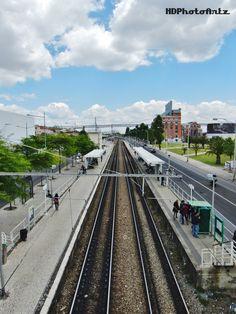 Lisbon, Belém, Train station