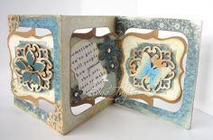 Love this beautiful Accordion Album project from Edna. Another Day, Another Card: At last!