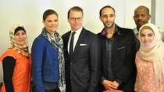 Queens & Princesses - Princess Victoria and Prince Daniel were visiting Kalmar, southern Sweden.