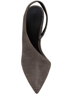 ALEXANDER WANG. I liked this better when I thought it was a flat. For some reason I don't love it with a slim high heel. Maybe a wedge?