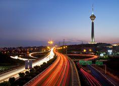 Tahran manzarasına h