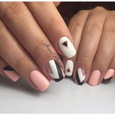 """Determine more info on """"nail paint ideas"""". Browse through our site. Manicure, Shellac Nails, Matte Nails, My Nails, Acrylic Nails, French Nails, Nailart, Nagellack Trends, Cute Nail Art"""
