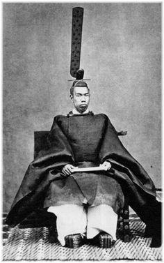 "The Meiji Emperor Mutsuhito. (It is not right to actually call ""Emperor"". The right name of Japanese Emperor is ""Tennou"" or "" Tennou-Heika"". Japanese History, Asian History, Japanese Culture, British History, Era Meiji, Samurai Warrior, Ichimatsu, Japan Photo, Japan Art"