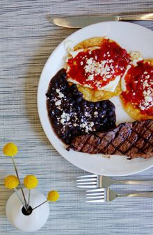 Komali Restaurant in Dallas:  fancy Mexican flair and $2 mimosas/ $5 bloody mary