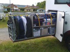 Impressive Rv & Camper Van Storage 26 Ideas