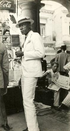 vintage everyday: Vintage Male Fashion – 22 Stunning Snapshots of Street…