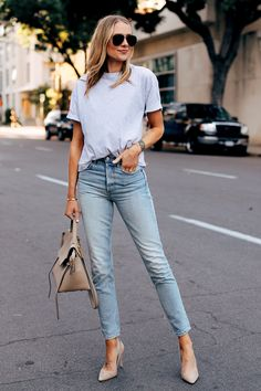 Women S Fashion Stores New Zealand Preppy Casual, Work Casual, Casual Outfits, Fashion Jackson, Denim Outfit, Work Attire, Mode Outfits, Kanye West, Denim Fashion
