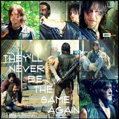 when daryl see carol after terminus - Google Search