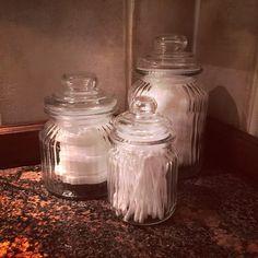 #kylpyhuone#bathroom#cottonwool#lasipurkit#vanut