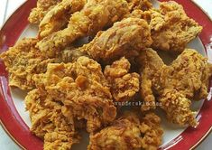 Ayam goreng tepung...enaak, bikinnya ga ribet dan crispynya awet