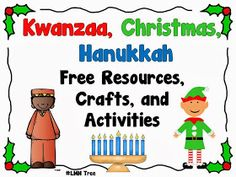 LMN Tree: Kwanzaa, Christmas, and Hanukkah: Free Resources, Crafts, and Activities