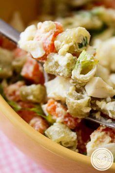 Receita de Salada de Vagem com Ovo e Cenoura – um prato delicioso para a ceia de Ano Novo! #receitas #salada #vegetariano #anonovo #ceia