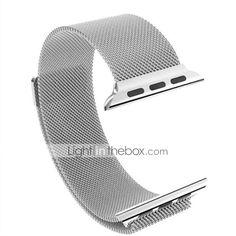 63b3d1916bb Pulseiras de Relógio para Apple Watch Series 4 3 2 1 Apple Pulseira Estilo Milanês  Aço Inoxidável Tira de Pulso