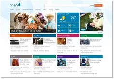 New MSN design