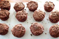 chocolate-chocolate cupcakes