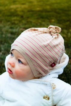 DIY T-shirt Baby Hats