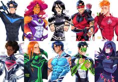 Dc Comics Heroes, Dc Comics Characters, Dc Comics Art, Marvel Comics, Comic Superheroes, Superhero Characters, Akira, Superhero Family, Anime Superhero
