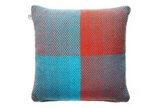 Two Sided Gradient Green Giant Cushion Cover by Simon Key Bertman Textile Design & Art made in Sweden on CROWDYHOUSE