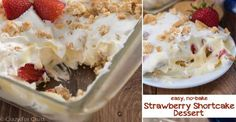 Now doesn't' this No Bake Strawberry Shortcake just make you salivate?  Do you have a favorite recip ...