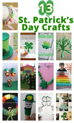 St. Patty's Day Crafts for kids