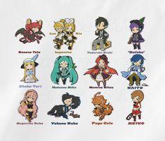 Custom Fanmade Vocaloid miku hatsune rin len T-Shirt Tee Tshirt merchandise gear poster dvd keychain figure soundtrack plush bag