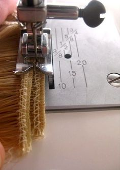 DIY Clip-In Hair Extensions