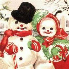 Retro Christmas Santa Greeting Card   Retro christmas