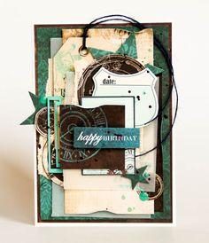 "Hand made by Evgenia K.: Мужские открытки ""Time Machine"""