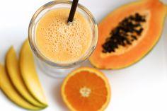 Heute habe ich mein persönliches Frucht-Smoothie Rezept für euch, was mindestens genauso gesund und lecker, wie ein grüner Smoothie ist.