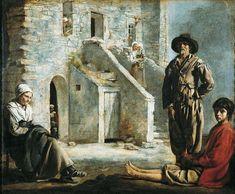 Louis Le Nain, Paysans devant leur maison vers 1640
