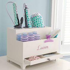 hair accessories/styling organizer NEED THIS!
