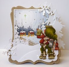 Jane's Lovely Cards: Tilda in the Forest