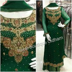 Very popular shalara suit, available on order customised to your choice ! #new #desistyle #embroidery #pakistanicouture #elegant #madetomeasure #handwork #embroidery #lace #pakistanistyle #bridalfashion #pakistaniwedding #dabka #crystals #formal #fashion #love #asianadornments #style #trendy #modestpakistanfashion #royalboutiqueoldham