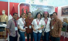 Caras felices de los participantes de la Feria de Turismo 2012