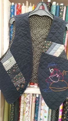 Sport Wear, Boro, Sims, Diy And Crafts, Vest, Quilts, Denim, Sewing, Jeans