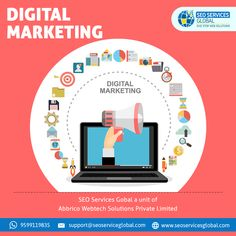 The Ultimate Guide to Digital Marketing is loaded with bits of knowledge and procedures for entrepreneurs, advertising experts, understudies, and any other individual hoping to sharpen their present abilities and get up to speed on the most recent in computerized showcasing patterns. Seo Services Company, Best Seo Services, Web Development Company, Seo Company, Internet Marketing Agency, Marketing Goals, Digital Marketing Services, Website Security, Ecommerce Website Design