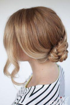 Hair Romance - Seashell braid tutorial - Reverse fishtail braid tutorial
