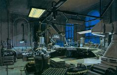 The Vault of Retro Sci-Fi - Syd Mead, Blade Runner concept art
