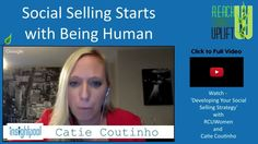 Where do you start with social selling? Catie Coutinho from @insightpool shares great tips!