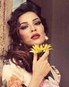 Nadine Nib Njeim Wedding Make Up Inspiration Miss Lebanon Full Eyebrows Clic Beauty Makeup