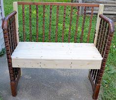 Shabby Love: Crib Bench